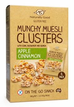 Munchy Muesli on Packaging of the World - Creative Package Design Gallery