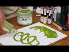 ▶ High Flow Acrylic Paint by Golden - YouTube