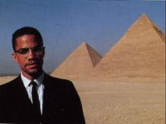 Malcolm X Speaks on Ancient Kemet/Egypt Malcolm X, Black Power, Marcus Garvey Quotes, Parks, Kemet Egypt, By Any Means Necessary, Black History Facts, Thing 1, African American History