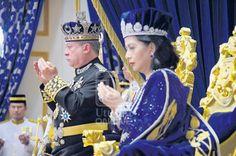 lamiafamilia (MY FAMILY): DAULAT TUANKU : Sultan Ibrahim dimahkota Sultan Jo...