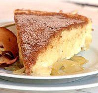 Another great recipe from Ina Paarman – a smooth and creamy Milk Tart with an apple base and a crunchy cinnamon sugar topping. Ingredients Milk tart: 2 cups ml) […] Tart Recipes, Apple Recipes, Baking Recipes, Sweet Recipes, Yummy Recipes, Pie Dessert, Dessert Recipes, Apple Ingredients, Milk Tart