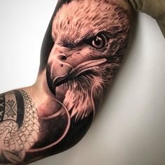 You wanna an eagle tattoo and you can not decide which one you should? We picked the best 50 eagle tattoo designs, look and inspire wi. Eagle Tattoo Forearm, Bald Eagle Tattoos, Bicep Tattoo Men, Eagle Head Tattoo, Inner Bicep Tattoo, Forarm Tattoos, Head Tattoos, Celtic Tattoos, Wolf Tattoos