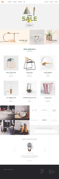 Store Concept by Iurasova Nataliia Website Layout, Web Layout, Layout Design, Minimal Website Design, Design Your Own Website, Webdesign Inspiration, Web Inspiration, Web Dashboard, Ui Web