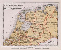 De Hollandsche Departementen van het Fransche Keizerrijk 1812