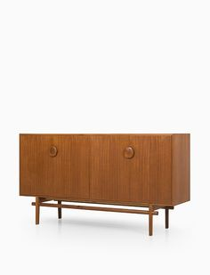 Tove and Edvard Kindt-Larsen; Teak and oak Sideboard for Seffle Möbelfabrik, 1960s. Via Studio Schalling.