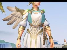 Mercy Cosplay Tutorial: Winged Victory Making-Of the Wings - YouTube