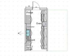 Galley Kitchen Plans kitchen floor plans | kitchen floorplans 0f kitchen designs