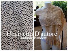 crochet shawl xale croche stola uncinetto