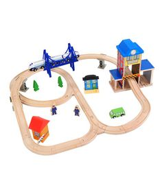 This City Train Station Set is perfect! #zulilyfinds