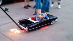 pictures of muscle cars baby rooms | GeeKNewZ.fr » La mini cadillac trotteuse pour enfant !