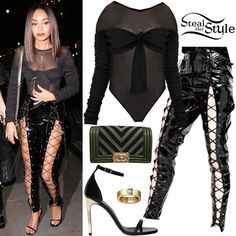 Find out where your favorite celebrities buy their clothes and how you can get their looks for less. City Outfits, Stage Outfits, Fashion Outfits, Little Mix Outfits, Little Mix Style, Mamma Mia, Star Fashion, Girl Fashion, Womens Fashion