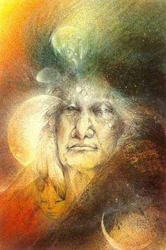 Crone Goddess by Susan Seddon Boulet Native Art, Native American Art, Sacred Feminine, Divine Feminine, Religion, Moon Goddess, Visionary Art, Illustrations, Illustration Art