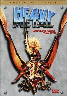 Heavy Metal, the music genre, is well-defined, well-known, and doesn't need much explanation. So heavy metal fans might be surprised when they encounter the only film of the same name: the 1981 film Heavy Metal. Heavy Metal 1981, Heavy Metal Movie, Animes Online, Movies Online, Hanna Barbera Cartoons, South Park, Akira, Hard Rock, Dan O Bannon