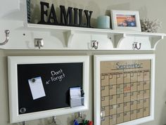 Small Space Family Launch Pad – Add a simple bench underneath...