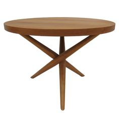 Robsjohn-Gibbings Jacks Table | From a unique collection of antique and modern end tables at https://www.1stdibs.com/furniture/tables/end-tables/