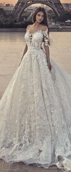 Julia Kontogruni Wedding Dress Collection 2018 #dresses