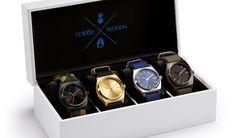colette x Nixon Gift Box, 4 montres d'exception dans un coffret exclusif - http://www.leshommesmodernes.com/colette-nixon-gift-box/