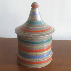 Italian Mid Century Modernist Raymor Ceramic Art Pottery