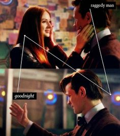 *SOB* I loved this scene. The Doctor got to see Amy one last time.