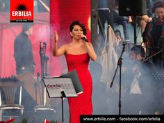 Turkish Pop Star Ebru Yasar at Hawler Festival 2014 - Event coverage by Erbilia Online Magazine www.erbilia.com #hawler #erbil #kurdistan #iraq
