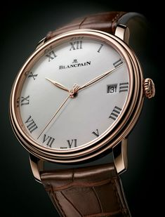 "Blancpain Villeret 2014 Watch With Enamel Dial And 8 Days Of Power - read more on aBlogtoWatch.com ""As a pre-Baselworld 2014 announcement, Blancpain will release a lovely new dress watch simply called the Villeret, that we feel fits into that rare category of a daily-wear formal timepiece...So why is the attractive 2014 Villeret a good choice for daily use?"""
