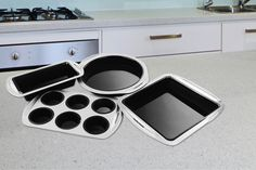 4pc Morphy Richards Bakeware Set