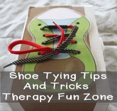 Teaching Shoe Tying: Tips and Tricks — Therapy Fun Zone