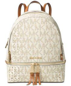 41312e01cc092 MICHAEL Michael Kors Rhea Zip Medium Backpack Handbags   Accessories -  Macy s