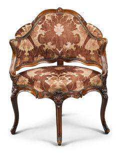 date unspecified A Louis XV carved walnut fauteuil de bureau century Оценка — GBP - unsold Classic Home Furniture, French Furniture, Vintage Furniture, Cool Furniture, Furniture Design, Georgian Furniture, Corner Furniture, Multipurpose Furniture, Luxury Chairs