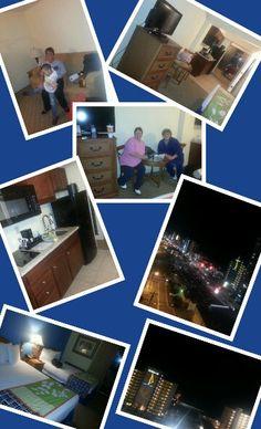 Our suite at Aqua Beach  motel 2013