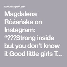 """Magdalena Ròżańska on Instagram: """"🧡💖💙Strong inside but you don't know it Good little girls They never show it When you open up your mouth to speak could you be a little weak…"""" Your Mouth, Open Up, Little Girls, Strong, Illustrations, Instagram, Toddler Girls, Illustration, Illustrators"""