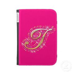 With Zazzle's tablet cases you can protect your iPad or Kindle during use. Ipad 1, Ipad Case, Kindle Case, Diamonds, Notebook, Lettering, Mini, Cover, Initials