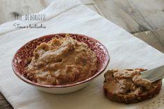Patè di fagioli borlotti, rustica e salutare crema da spalmare sul pane integrale, facciamo il pieno di proteine nobili vegetali per trovare energia