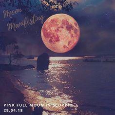 April 29 Pink Moon In Scorpio