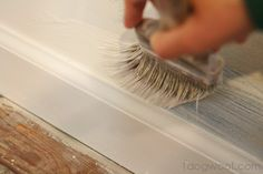How to Paint Without Pre-Taping - One Dog Woof  http://www.1dogwoof.com/2013/02/how-to-paint-without-pre-taping.html
