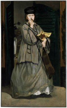 Edouard Manet, Street Singer, c. 1862