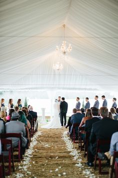 Tent set up in our garden space for their ceremony, http://www.rachel-whyte.com