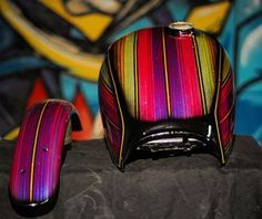 Honda tank and sportster fender. mini and micro sliver and a little mini gold flake accent. Motorcycle Paint Jobs, Kustom, Custom Bikes, Chopper, Tanks, Recovery, Honda, Bobbers, Paint Ideas