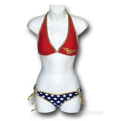 Even more than my impending wedding, this Wonder Woman bathing suit inspires me get beach ready!