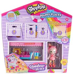 Happy Places Shopkins Surprise Me Pack - Bbq Party Beach Furniture, Colorful Furniture, Bedroom Furniture, Medan, Shopkins Rainbow, Shopkins Playsets, Toys For Girls, Kids Toys, Shopkins Gifts