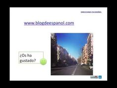 Direcciones en español - Give directions in Spanish - YouTube