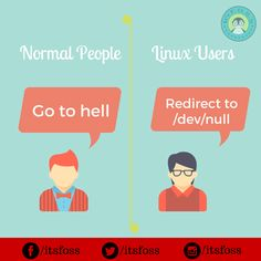 Linux users vs Normal people