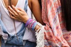 Bracelets. Kimono. And friendship.