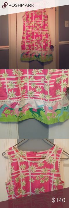 NWOT~AMAZING LillyPulitzer  Derby 🐎 Day Dress WEAR THIS FANTASTIC LILLY PULITZER, & TO THE RACES 🐎 & YOU WILL DEFINITELY BE THE TRIPLE CROWN WINNER!🏆- DON'T FORGET THE HAT👒& A GLASS OF 🍾CHAMPAGNE!! Lilly Pulitzer Dresses Midi