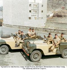 Argyll and Sutherland Highlanders Aden 1967 Land Rover Series 3, Land Rover Defender 110, Uk Arms, Army Post, New Jaguar, British Armed Forces, Jaguar Land Rover, Royal Marines, Firearms