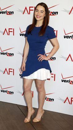Emilia Clarke Style Inspiration AFI Awards 2014