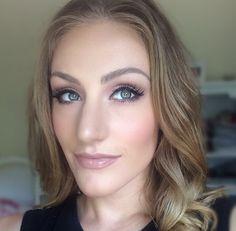 Soft blush makeup! #makeupbyellen #mua #makeup #pink #brows followe on Instagram @makeupbyellen  Www.makeupbyellen.com.au