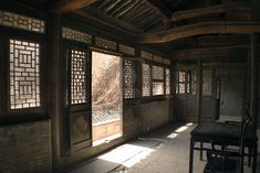 interior of an old chinese house