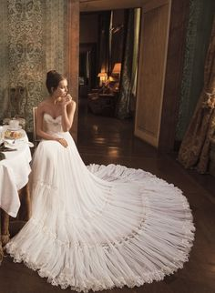 Haute Couture Wedding Dress Just For You Divas - Fashion Diva Design Bridal Gowns, Wedding Gowns, Wedding Bride, Wedding Lace, Princess Wedding, Chic Wedding, Perfect Wedding, Dream Wedding, Glamorous Wedding