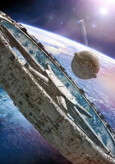 Ideas For Science Fiction Inspiration Sci Fi Space Station Cyberpunk, Sci Fi Fantasy, Fantasy World, Sci Fi Kunst, Science Fiction Kunst, Space Opera, Sci Fi Spaceships, Sci Fi Environment, Sci Fi Ships